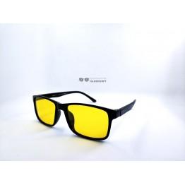 Graffito polarized 3182 Глянцевый черный/желтая линза