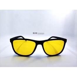 Graffito polarized 3185 Матовый черный/желтая линза