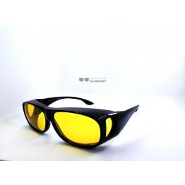 Graffito polarized 3120 Глянцевый черный/желтая линза