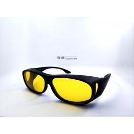 Graffito polarized 3120 Матовый черный/желтая линза