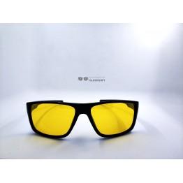 Graffito polarized 3122 Глянцевый черный/желтая линза