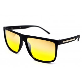 Graffito polarized 3155 матовый черный/ желтая зеркальная линза
