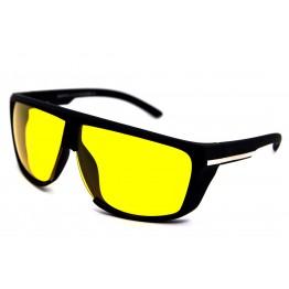 Graffito polarized 3109 Матовый черный/желтая линза