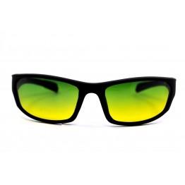 Graffito polarized 3104 Матовый черный/зеленая линза