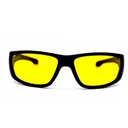 Graffito polarized 3110 Матовый черный/желтая линза
