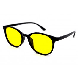 Graffito polarized 3144 Глянцевый черный/желтая линза