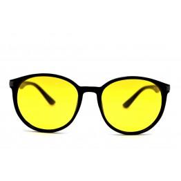 Graffito polarized 3162 Глянцевый черный/желтая линза