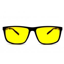 Graffito polarized 3231 Глянцевый черный/желтая линза