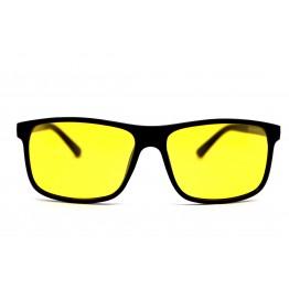 Graffito polarized 3123 Глянцевый черный/желтая линза