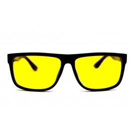 Graffito polarized 3236 Глянцевый черный/желтая линза