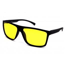 Graffito polarized 3176  Матовый черный/желтая линза