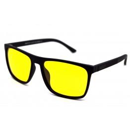 Graffito polarized 3137 Матовый черный/желтая линза