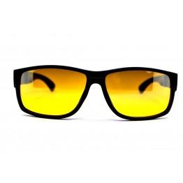 Graffito polarized 3128 Глянцевый черный/желтая зеркальная линза