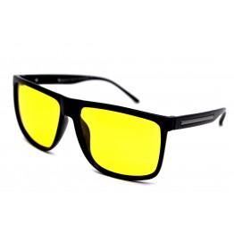 Graffito polarized 3155 Глянцевый черный /желтая линза