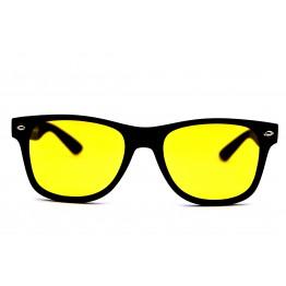 Graffito polarized  3100 Глянцевый черный/желтая линза