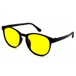 Graffito polarized 3159 Глянцевый черный/желтая линза