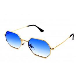 R.B 3556 Золото/голубой