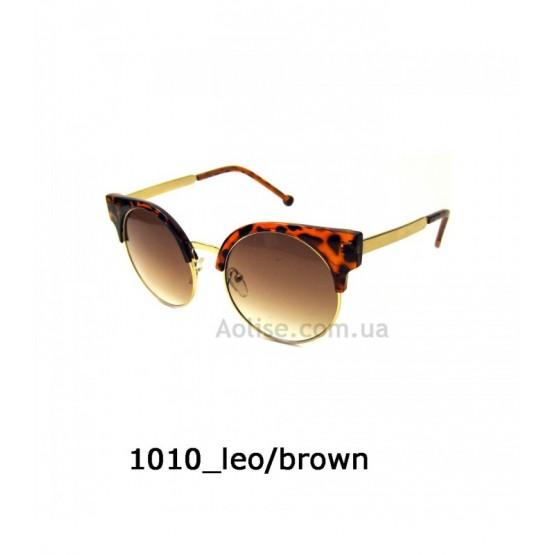 Купить очки оптом 1010 leo/brown