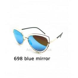698 blue mirror