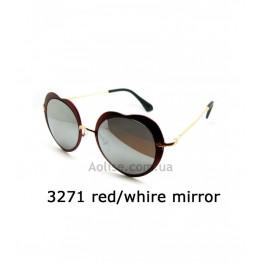 3271 red/white mirror